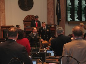USS Kentucky Presentation to the Kentucky House of Representatives