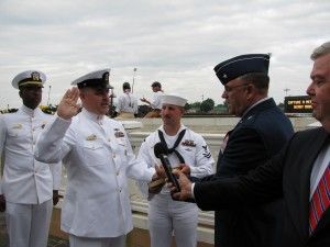 Re-enlistment at Churchill Downs