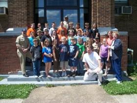 Mrs. Biehle's 4th Grade Class at Worthington Elementary School