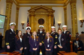 Constitutional Pages and Navy Soldiers (03-05-09)